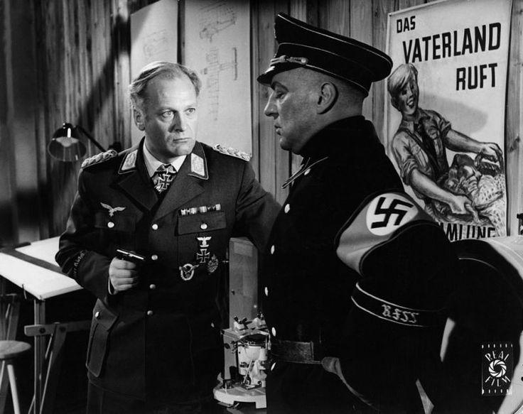 """Curd Jürgens in """"Des Teufels General"""" (Helmut Käutner, 1955)"""