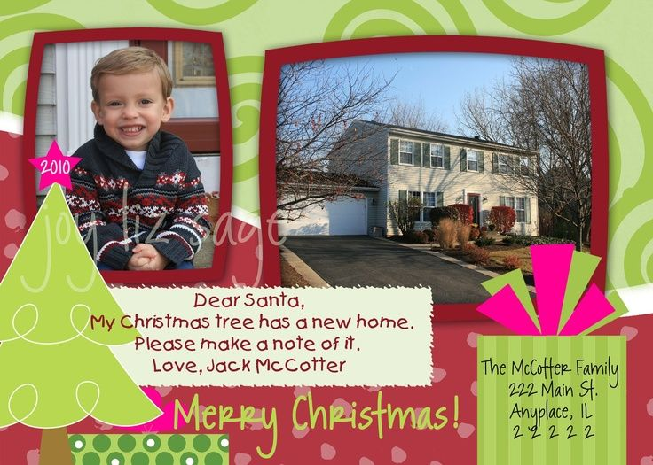 Best Weve Moved Images On Pinterest Moving Announcements - Luxury christmas card templates for photographers 2014 scheme