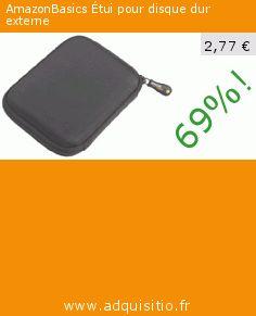 AmazonBasics Étui pour disque dur externe (Personal Computers). Réduction de 69%! Prix actuel 2,77 €, l'ancien prix était de 8,99 €. http://www.adquisitio.fr/amazonbasics/%C3%A9tui-disque-dur-portable