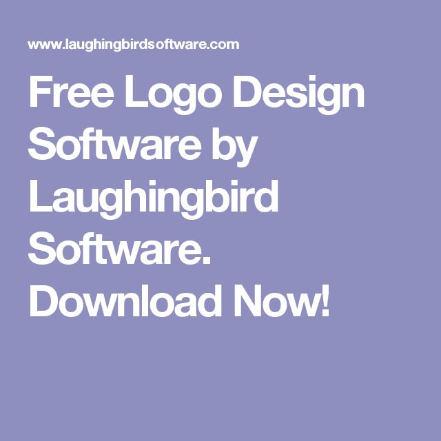 Free Logo Design Software by Laughingbird Software. Download Now!