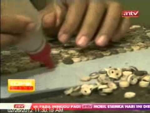 TOPIK ANTV Kerajinan Kreatif Batok Kelapa - YouTube