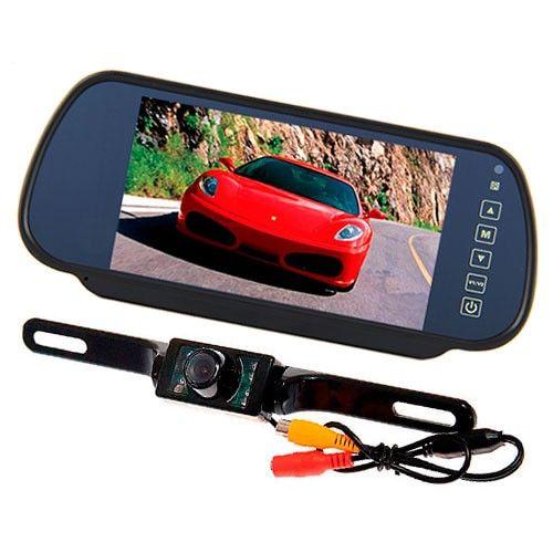 Камера ночного видения для автомобиля с монитором
