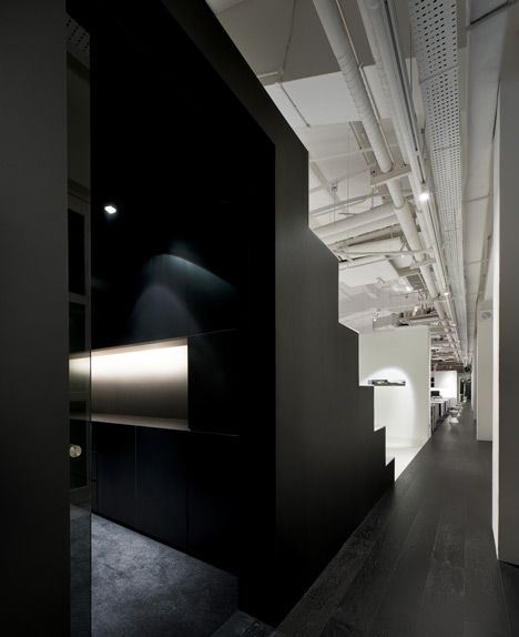 Bar Code Office by Ministry of Design