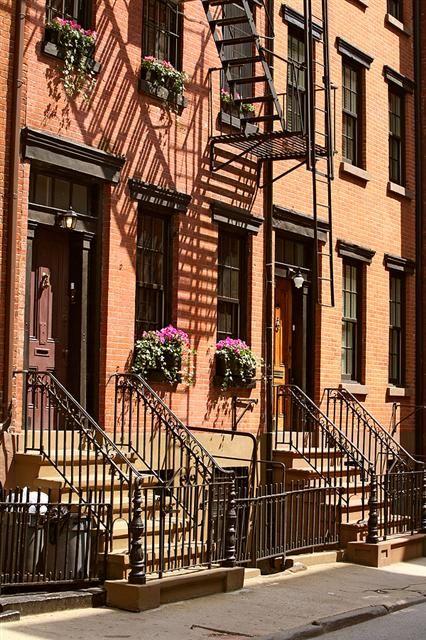 Eine Wohnung In Greenwich Village, New York, Die Anna Und Ihrem Ehemann,  Nicolas