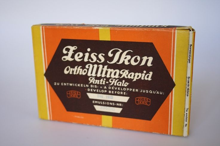 Zeiss Ikon Filmpack Ortho Ultra Rapid Anti-Halo  [P-D Chemiepark Bitterfeld-Wolfen, Areal A, Bunsenstrasse 4]
