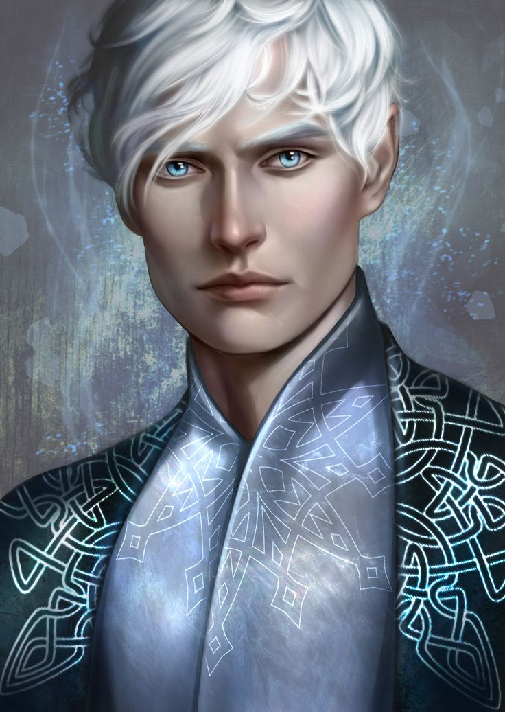 Art by morgana0anagrom   Kallias from A Court of Thorns and Roses series