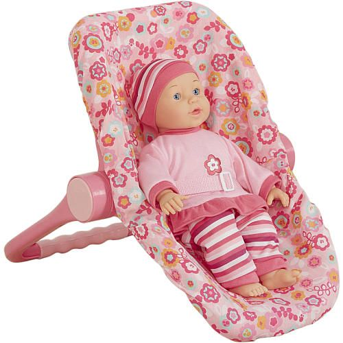 you me 3 in 1 doll car seat pink toys r us toys r us baby taylor car seat on the. Black Bedroom Furniture Sets. Home Design Ideas