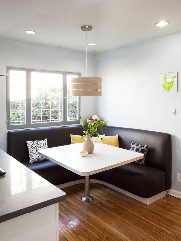 contemporary banquette seating - Esstisch Mit Bankettbestuhlung