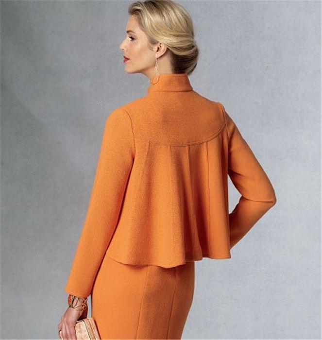 Patron de veste et robe - Vogue 1435 - Rascol