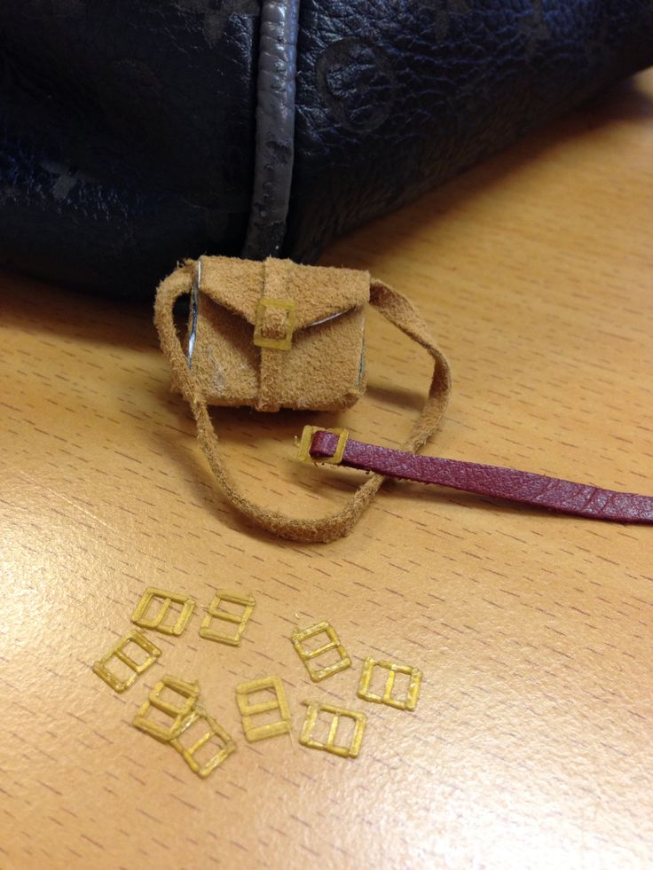 Handbag and belt.Buckle maid  by 3D printer.