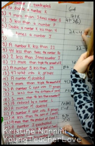 A super easy formative assessment idea to use with ALL of your students at once! -Young Teacher Love Blog