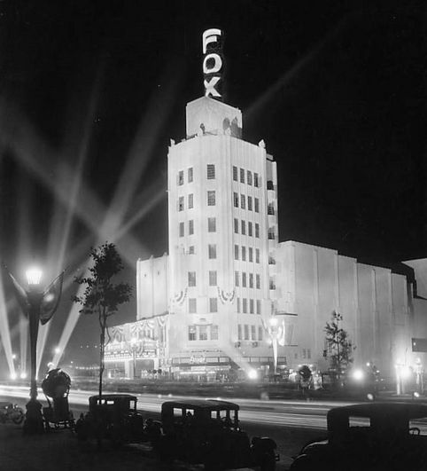 """The Fox Wilshire Theater at 8440 Wilshire Boulevard was a flagship in the Fox chain, so this was an especially big night on September 19th, 1930. The film chosen to christen the place was """"Animal Crackers"""" starring the Marx Brothers, who were fresh off the success of their previous film, """"The Cocoanuts."""" (1929) The theater is still around and is now known as called the Saban. On my website, I have more photos, including a shot of the stunning Art Deco interior: https://wp.me/p5XK3w-3N2"""