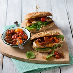 Grilled Chicken Burgers #Lunch #Recipe #Burgers #SouthAfrica