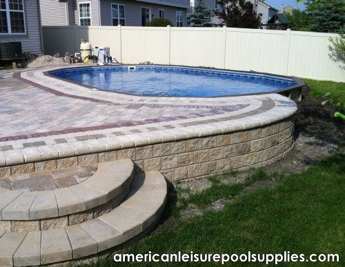 american leisure pool supplies the ultimate above ground swimming pool above or inground application. beautiful ideas. Home Design Ideas