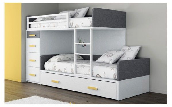 les 25 meilleures id es de la cat gorie lit superpos sur pinterest lits superpos s pour. Black Bedroom Furniture Sets. Home Design Ideas