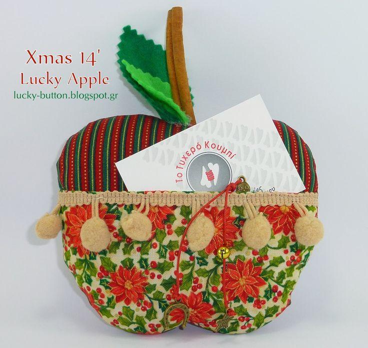 Το τυχερό κουμπί: Αρωματικά μήλα με τσεπούλα  2014