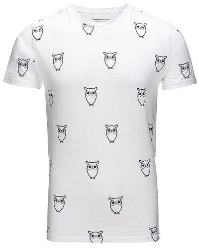 Mega fede Knowledge Cotton Apparel T-shirt Knowledge Cotton Apparel T-shirts til Herrer i fantastisk kvalitet