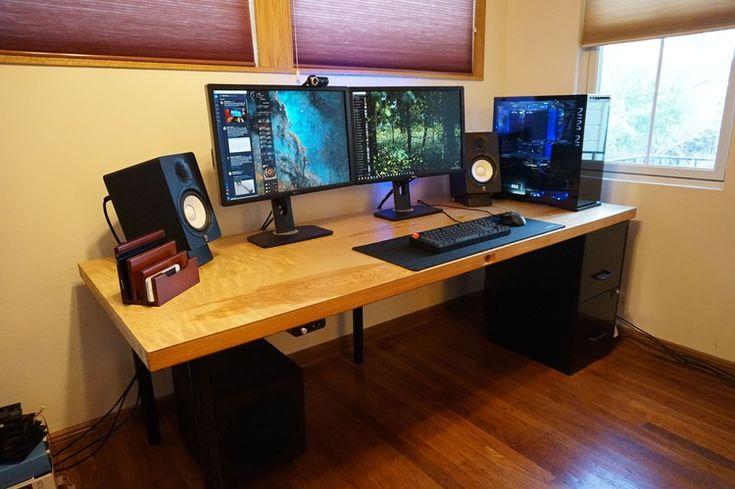 Diy Computer Desk, Custom Built Desk