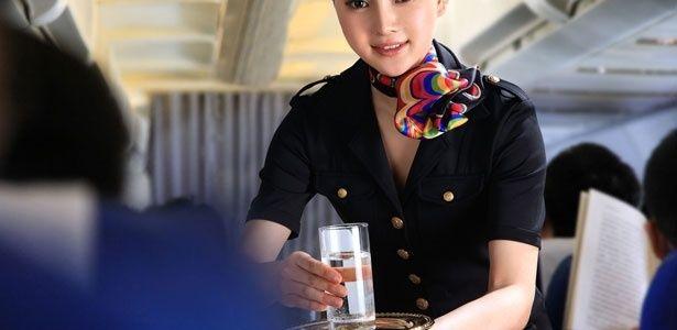 16 segredos desvendados por comissários de bordo