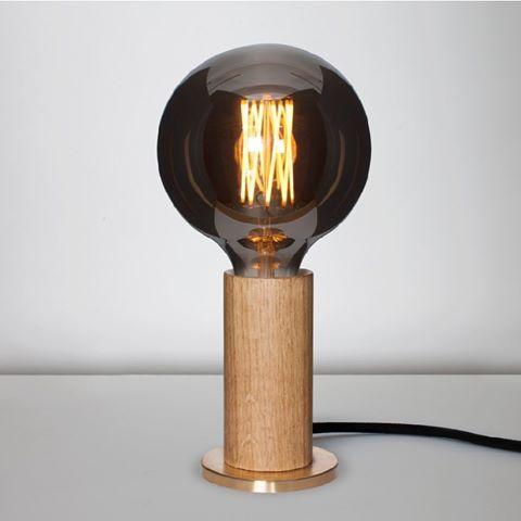 Tala table touch lamp Oak