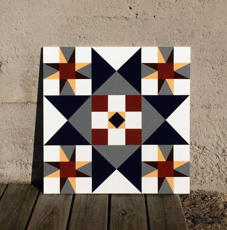 Barn Quilt 1606 by Barefootpeddler on Etsy