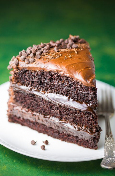When you just need some chocolate! This 3-layer Death by Chocolate Cake is for SERIOUS chocolate lovers only!