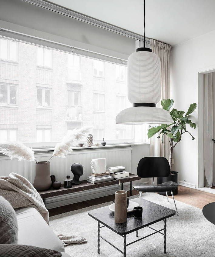Small Studio Home With A Smart Layout Via Coco Lapine Design Blog Small Living Room Design Quality Living Room Furniture Livingroom Layout