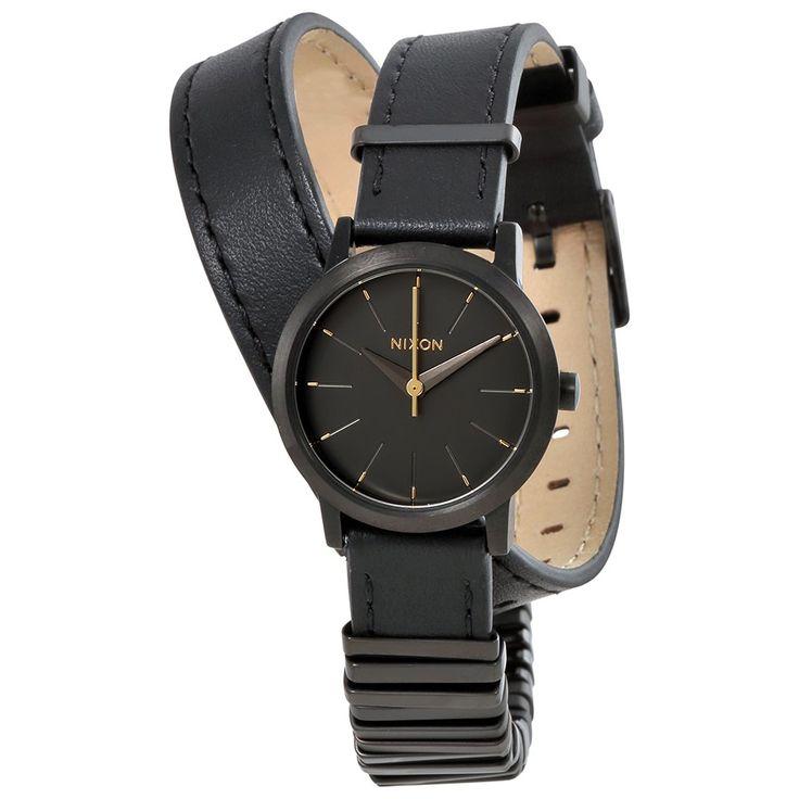Nixon Kenzi Wrap Black Dial Ladies Quartz Watch A4031616 - Nixon - Watches - Jomashop
