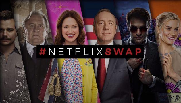 すごく単純だが効果的 ー 人気キャラクターと顔交換!ネットフリックスのSnapchat活用屋外PR『#NetflixSwap』 | AdGang