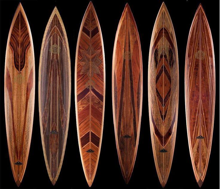 Vintage Wood Surfboards 24