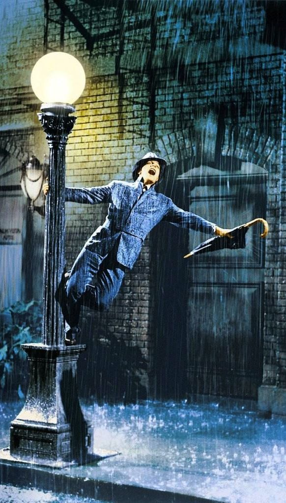 Gene Kelly - Singin' in the Rain (Stanley Donen, 1952) - my favourite musical! <3