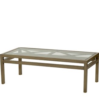 """Terrazza Coffee Table BY PARKER JAMES D 24"""" W 48"""" H 16.5""""  Weathered"""