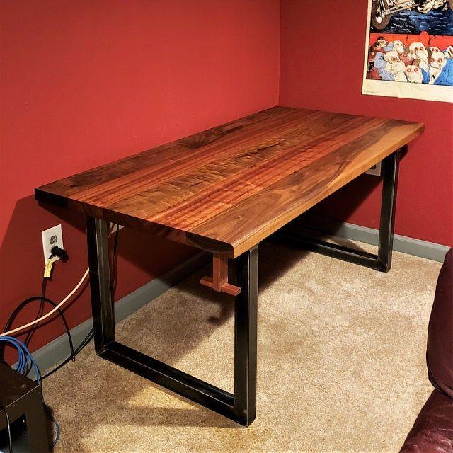 Metall Tisch Beine U Stil Verstellbare Nivellierung Fusse Etsy In 2020 Metal Table Legs Metal Table Table Legs