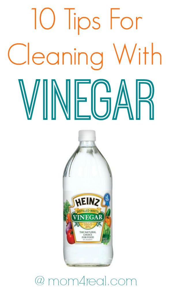 10 Tips For Cleaning with Vinegar and many more Cleaning Tricks