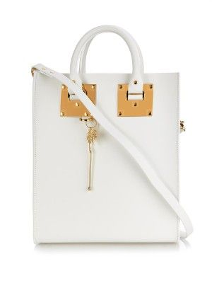 Mini Albian buckle leather tote | Sophie Hulme | MATCHESFASHION.COM