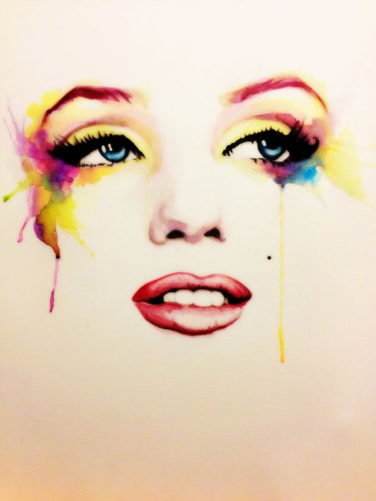 Marilyn by ~ladulcevita on deviantART  Love this!