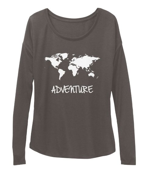 Adventure Map Long Sleeve Shirt. Available for purchase at www.teespring.com/adventure-map