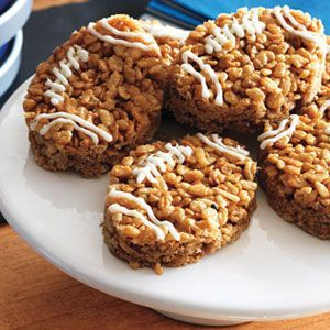 Keep your eye on the ball. These peanut butter treats will go quickly!