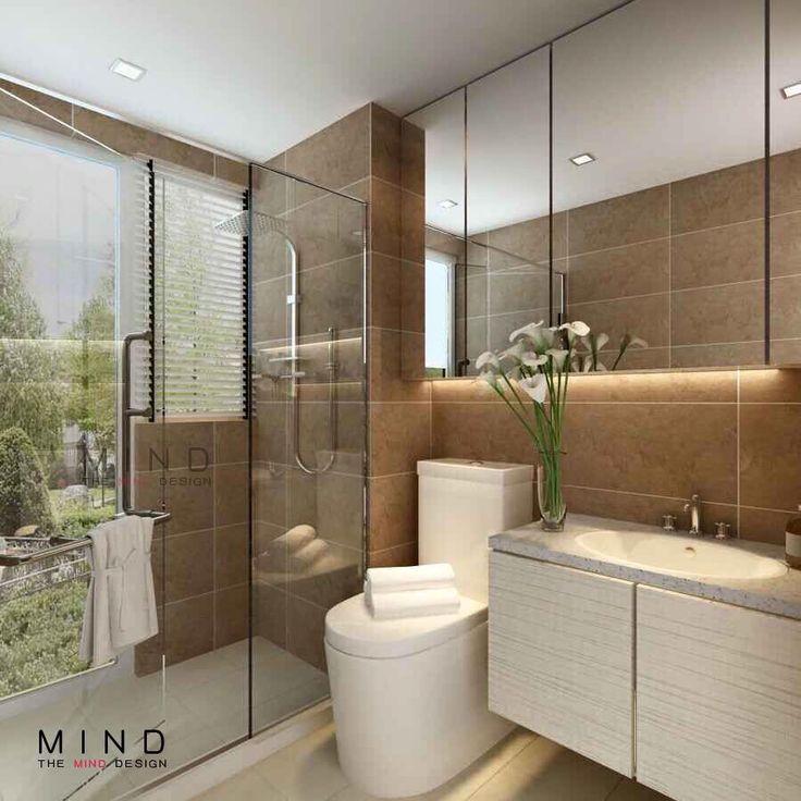 The Trilliant - Tampines, Condominium Interior Design, Bathroom