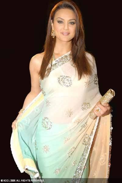 Priety Zinta - Sensual In Saree
