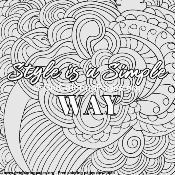 Free Printable Coloring Pages For Adults Pdf Getcoloringpages