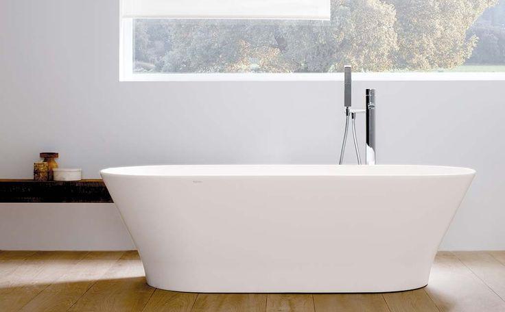 SLIM, cuando la bañera se convierte en un objeto decorativo  - KRION Solid Surface