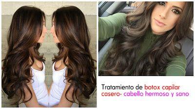 Como hacer botox capilar casero para conseguir un cabello hermoso ~ Belleza y Peinados
