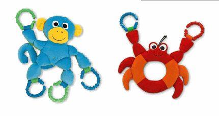 chewable crab or monkey