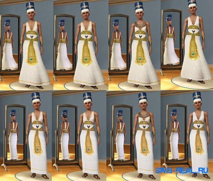 Картинки египетская прическа и костюм
