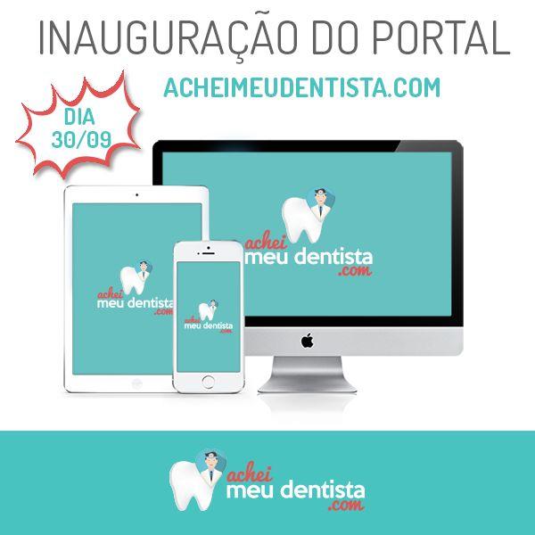 30 de setembro. Guarde essa data! Amanhã será o lançamento oficial do Achei meu dentista.com, o portal que facilitará o trabalho dos dentistas e, ainda, auxiliar pacientes que precisam de atendimento odontológico. Estaremos no 2º Simpósio de Endodontia e Microscopia Operatória, na APCD - Associação Paulista de Cirurgiões-Dentistas