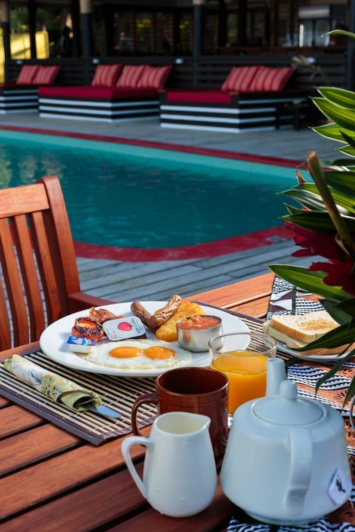 Your Choice - breakfast in bed or by the pool!