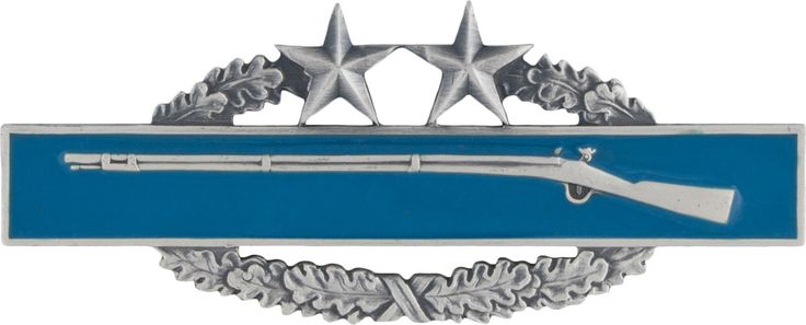 Combat Infantryman Badge  Third Award (1952)