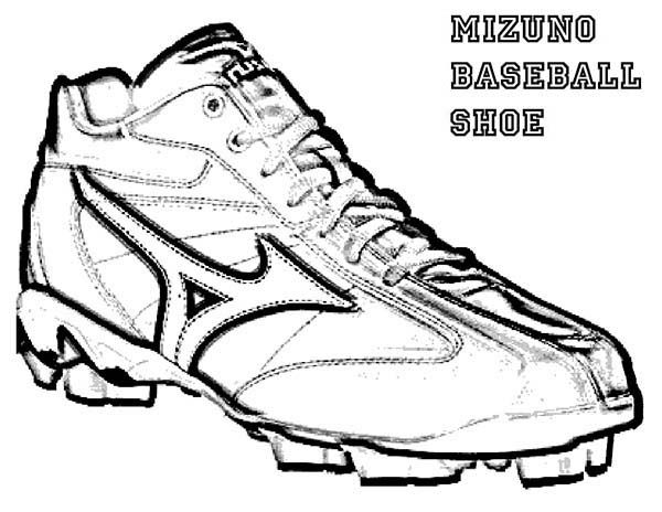 Baseball Cleats Coloring Pages 2020 Baseball Cleats Cleats