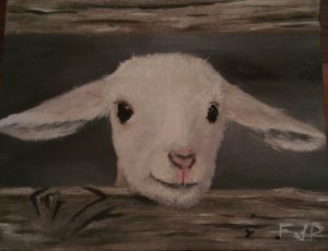 Final lamb painting.
